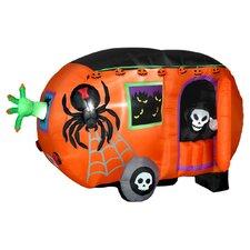 Airblown Halloween Inflatable Camper Halloween Decoration