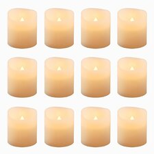 Battery Operated Votive Candle (Set of 12)