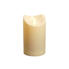 Action Flame Flameless Pillar Candle