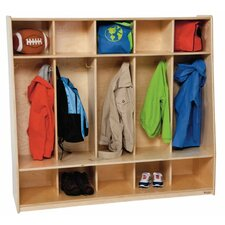 Healthy Kids 1 Tier 5-Section Tip-Me-Not Locker