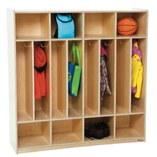 1 Tier 8-Section Space Saver Locker