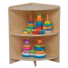 High Corner Shelf Cabinet