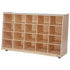 Tip-Me-Not 20 Compartment Cubby