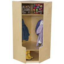 1-Section Corner Locker