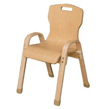 "Healthy Kids 14"" Wood Classroom Chair"