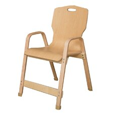 "Healthy Kids 18"" Wood Classroom Chair"