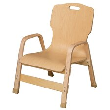 "Healthy Kids 12"" Wood Classroom Chair"