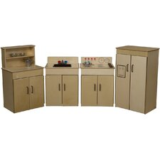 Classic 4 Piece Appliances Kitchen Set