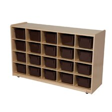 Natural Environment 20 Compartment Cubby