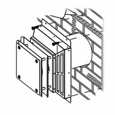Wall Terminal for The Dream Fireplace Vent Kit