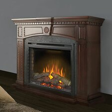 Harlow Surround Mantel Electric Fireplace