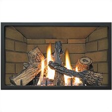 Decorative Porcelain Fireplace Insert