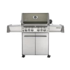 """28"""" Prestige Gas Grill with Rear and Side Infrared Burners"""
