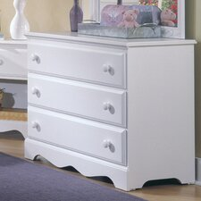 Carolina Cottage 3 Drawer Dresser