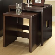 Marketplace by Thomasville 2 Piece Nesting Tables