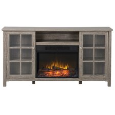 Provence TV Stand with Electric Fireplace