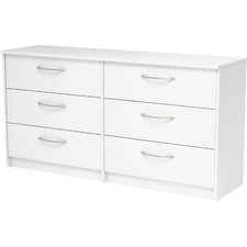 Finch 6 Drawer Double Dresser