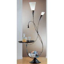 180 cm Design-Stehlampe Fackel