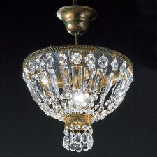 Kristall-Pendelleuchte 1-flammig Cupola