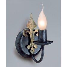 Wandfackel 1-flammig Castello