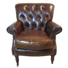 Belfort Leather Arm Chair