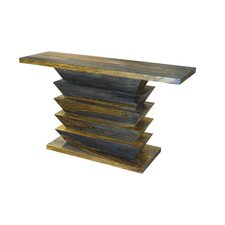 Accordian Console Table