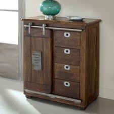 4 Drawer 1 Door Cabinet