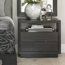 Carrera 2 Drawer Nightstand