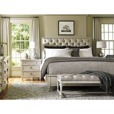Oyster Bay Upholstery Platform Customizable Bedroom Set