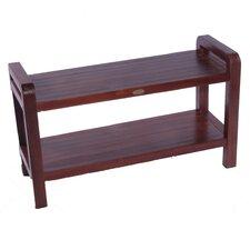 LiftAide Teak Bathroom Spa Bench