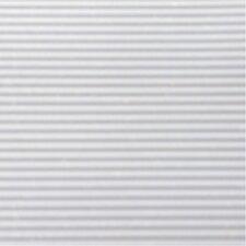 6' x 1' White Ribbed Shelf Liner