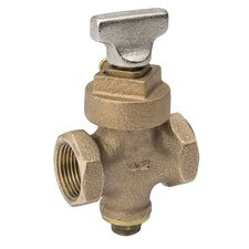 Mueller Stop and Drain Valve