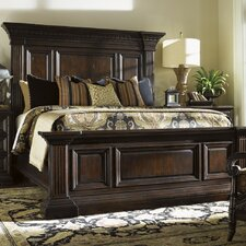 Island Traditions Panel Bed