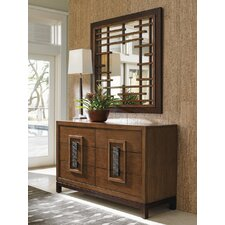 Island Fusion 6 Drawer Dresser with Mirror