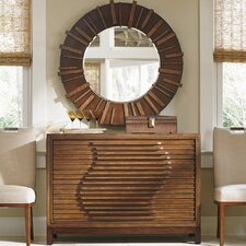 Island Fusion 4 Drawer Dresser with Mirror