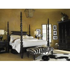 Kingstown Four Poster Customizable Bedroom Set