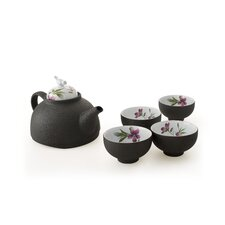 Emperor 5 Piece Clay Tea Set