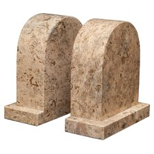 Fossil Stone Metis Book Ends (Set of 2)
