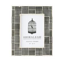 Loft Houndstooth Print Picture Frame