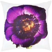 Flower Print Throw Pillow