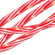 Candy Cane Indoor/Outdoor Christmas Rope Light Decoration