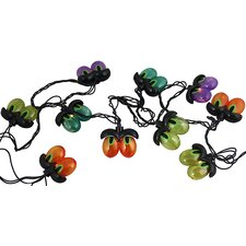 10 Light Spooky Eyeball Halloween Light String