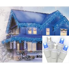 Led Wide Angle Icicle Christmas Light with Wire (Set of 70)