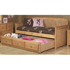 Twin Convertible Toddler Bed with Storage