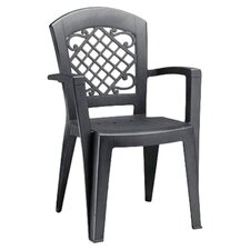 Juliette Stacking Dining Arm Chair