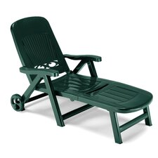 Splendida Folding Reclining Sun Lounger