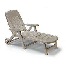 Folding Reclining Sun Lounger