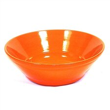 "Terracotta 11"" V-Shaped Salad Bowl"