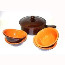 Terracotta 6-Piece Cookware Set
