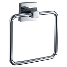 Mezzo Wall Mounted Towel Ring in Chrome